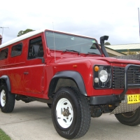 Red Rover - Tale of a Landy Make-over