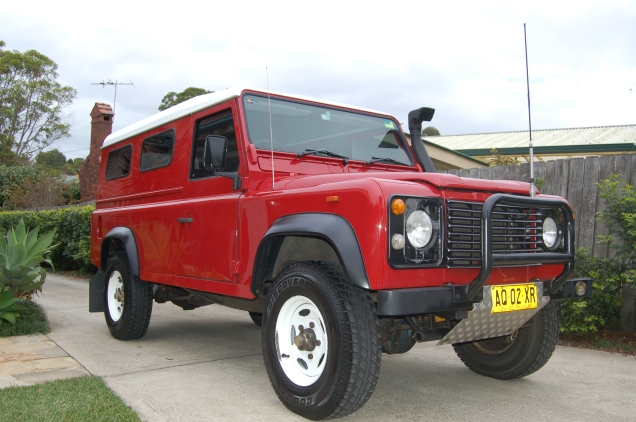 Our other Defender - Red Rover