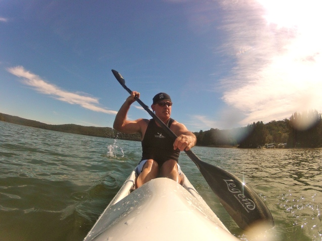 Baz - Kayaking Narrabeen Lake, Sydney, Australia