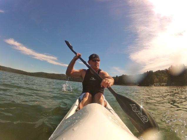 Baz - Kayaking Narrabeen Lake, Sydney, Australia