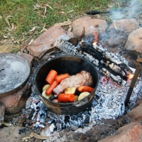 Camp Oven Cooking - You've gotta love it!