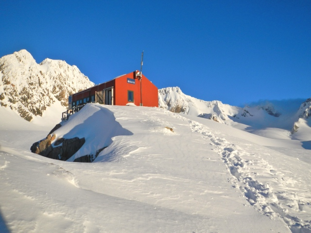 Pioneer Hut, Fox Glacier, New Zealand