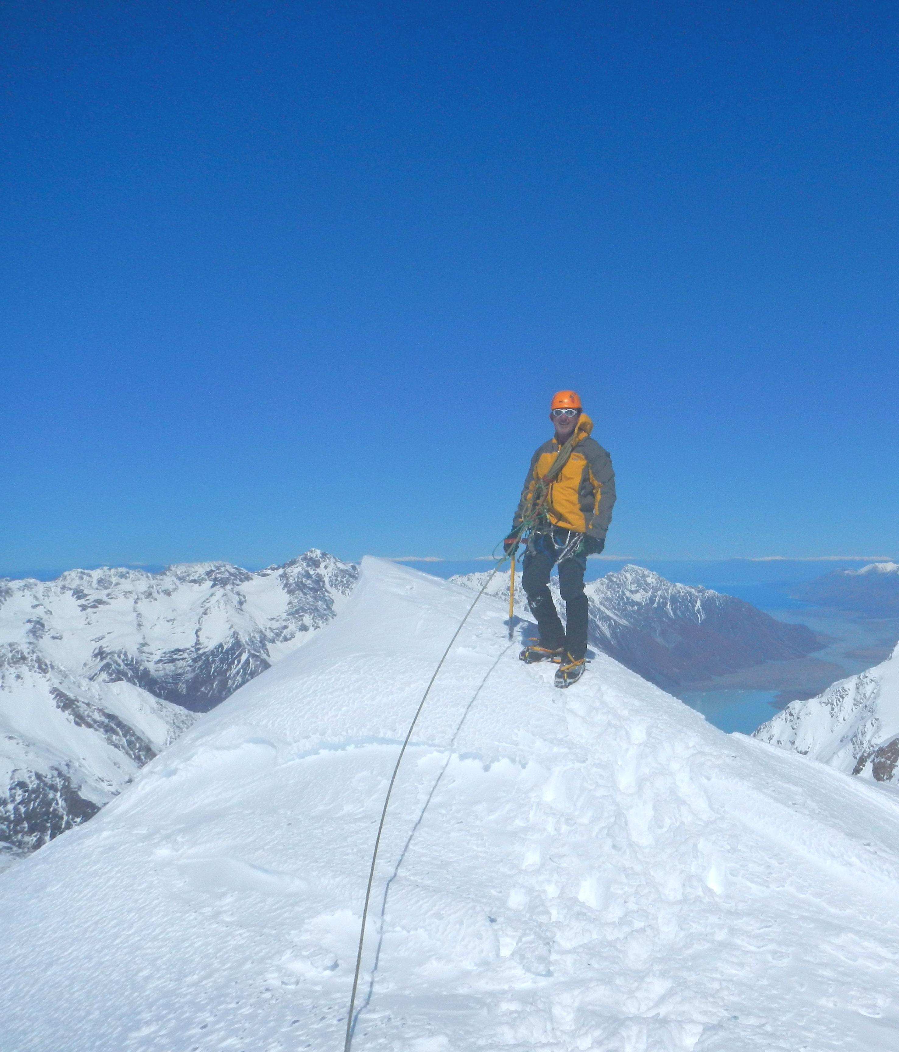 Grey's Peak New Zealand