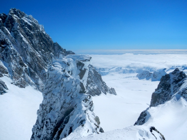 Grey's Peak, Fox Glacier, New Zealand