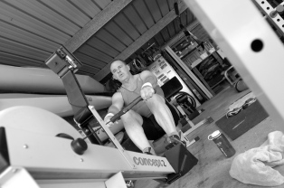 Rowing in the Shed