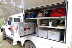 The Landy - Outback Australia (that looks like a fridge to me!)