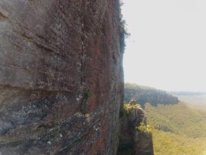 Overlooking the Three Sisters, Katomba