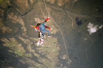 Janet Skydiving