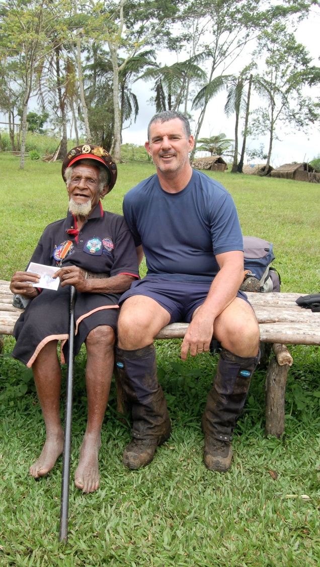 Baz and a Fuzzy Wuzzy Angel, Menari Village, Papua New Guinea