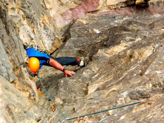 Baz on final pitch - Sweet Dreams, Blue Mountains, Australia