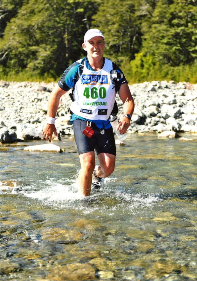 Baz - Mountain Run, Coast to Coast Race, New Zealand