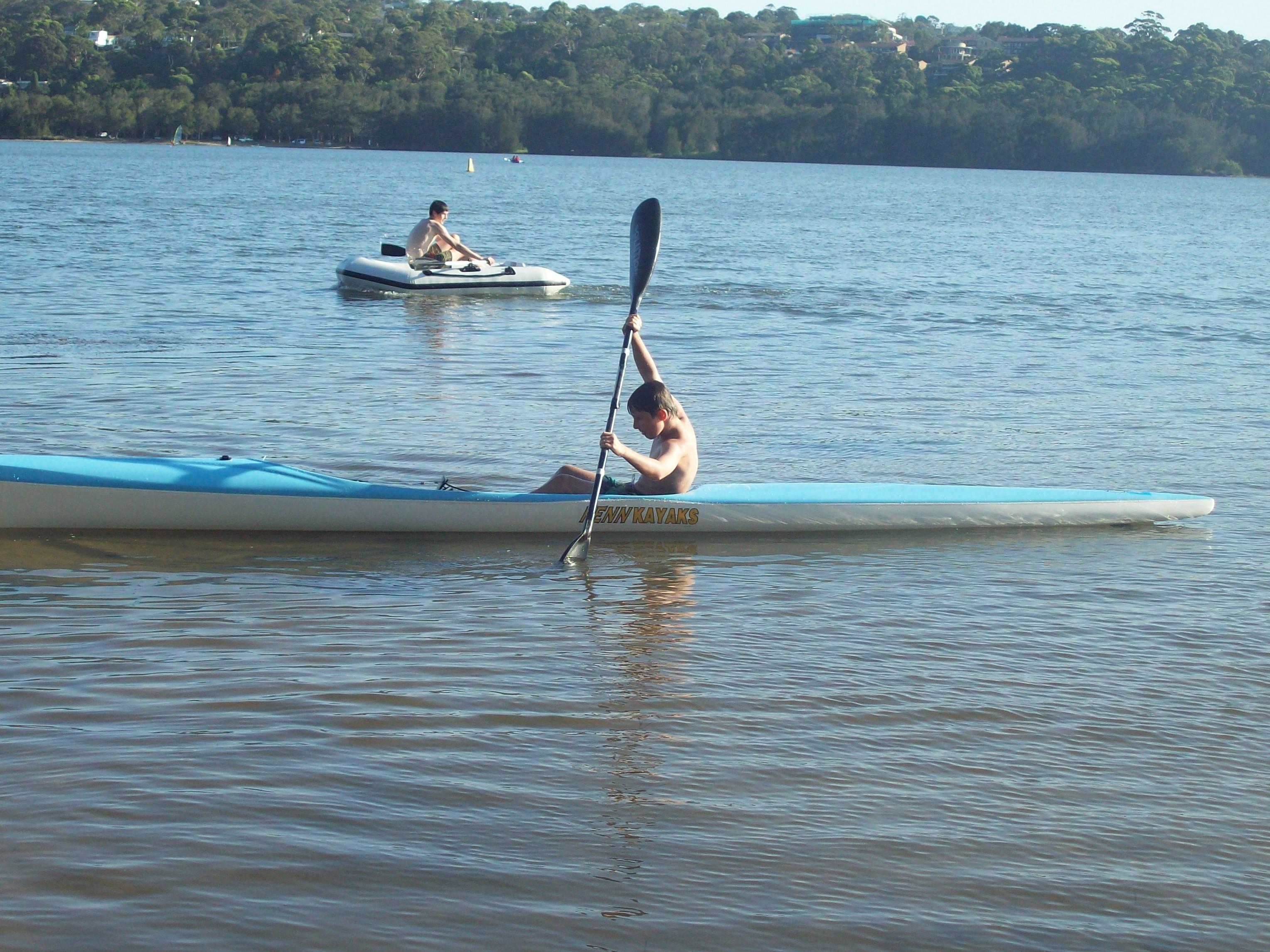 """TomO paddling """"The Fenn"""""""