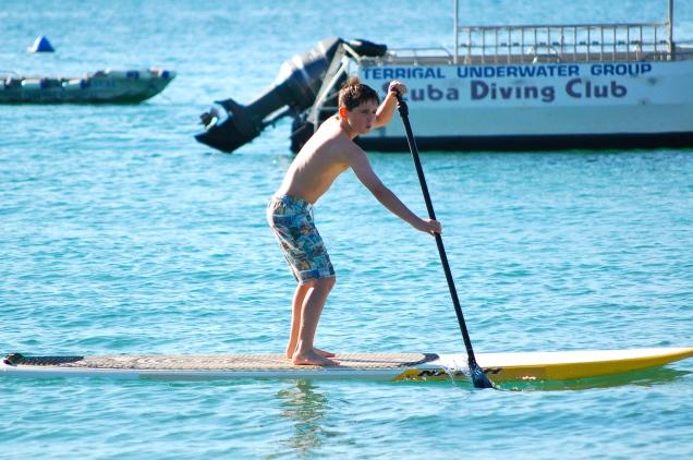TomO, Paddle-Boarding