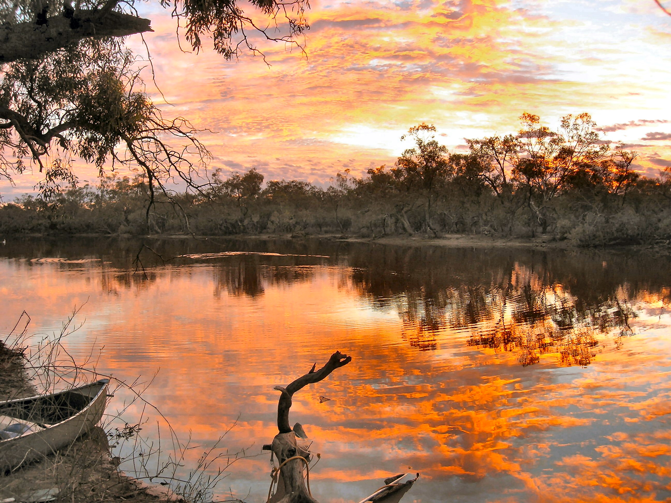 Ourimperee Water Hole - Outback Australia
