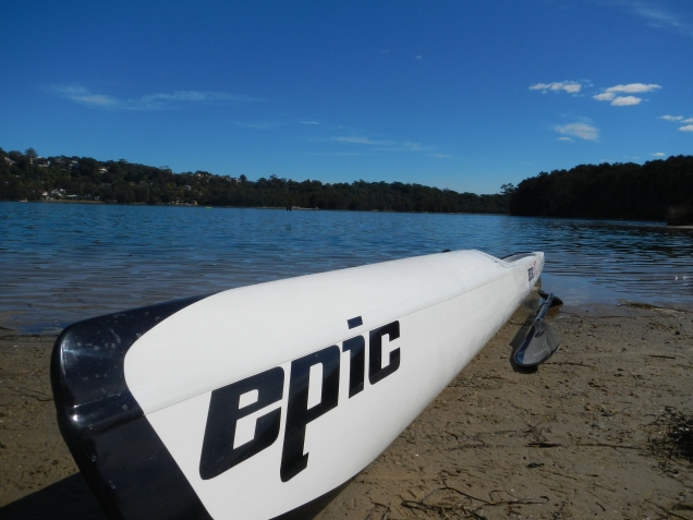Epic Kayak, Narrabeen Lake, Australia