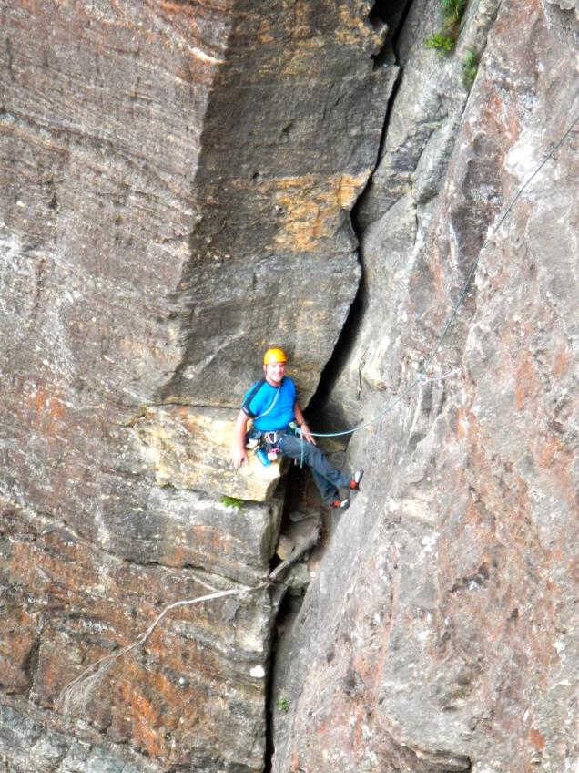 Baz - Climbing Sweet Dream, Blue Mountains, Australia