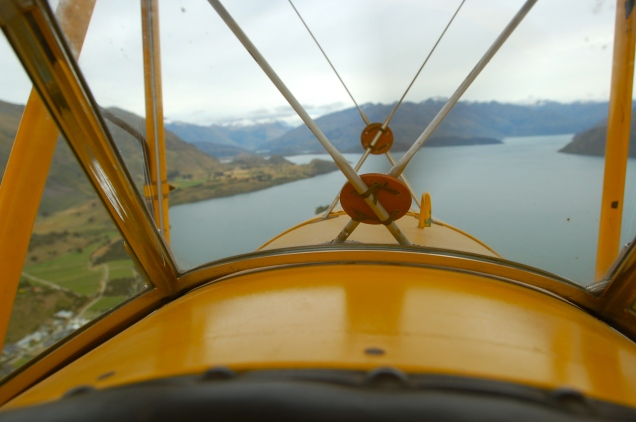 Baz over Wanaka