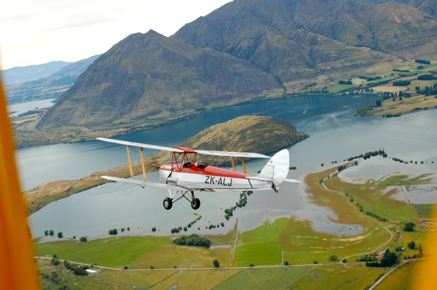 TomO and Baz over Wanaka