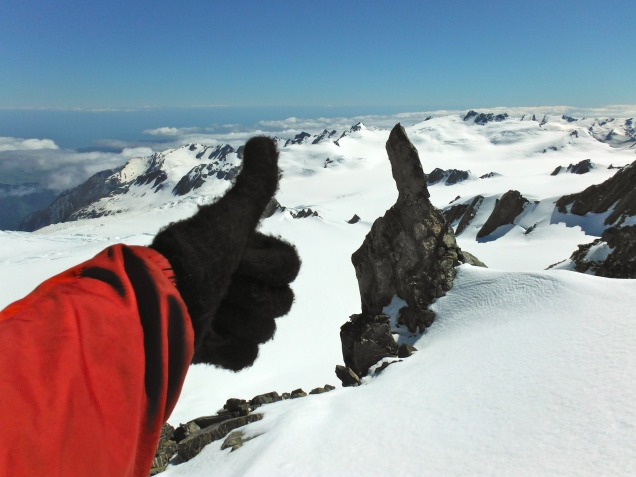 "New Zealand's Southern Alps - Gets the ""Thumbs Up"""