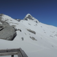 Summiting is optional - getting down is mandatory (Mt Aspiring)
