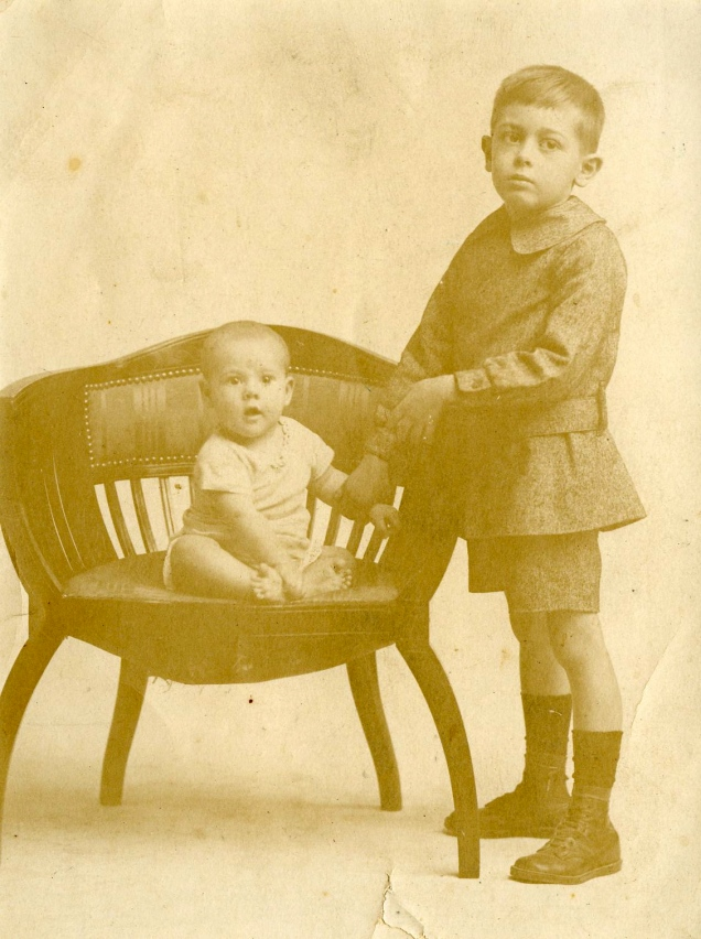 Archie and younger sister Marjorie