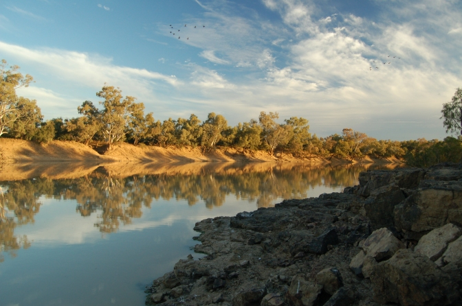 Barcoo River, Outback Australia