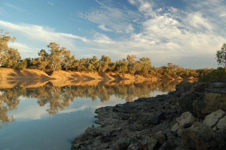 Barcoo River, Outback Australia