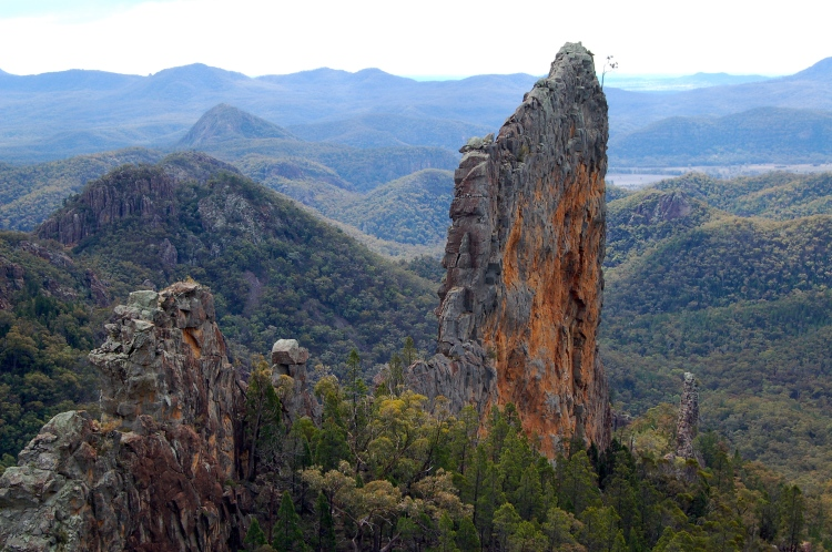 The Bread-Knife, Warrumbungles, Australia
