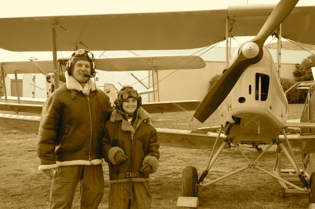 Baz & TomO - ready to take to the skies