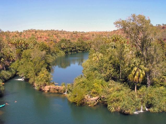 Lawn Hill Gorge, Gulf Savannah, Outback Australia