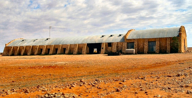 Cordillo Downs Woolshed, Outback Australia