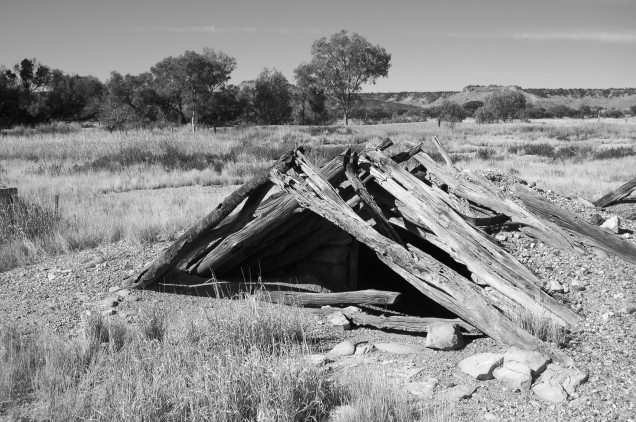 The Cellar - Mayne Hotel Ruins, Channel Country, Outback Australia