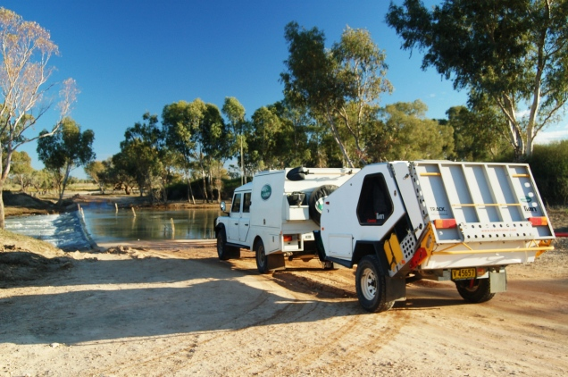The Landy and Tvan, Outback Australia