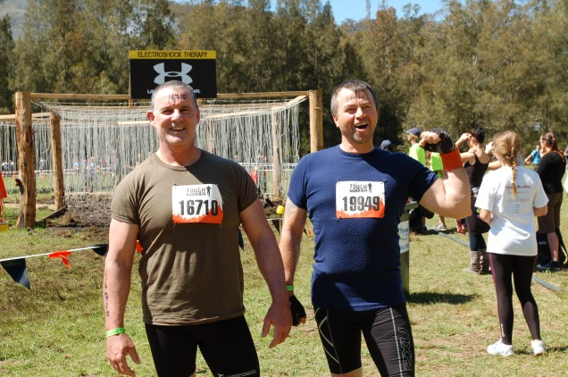 Baz & Ray - Tough Mudder, Sydney, Australia