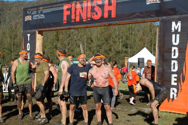 "Baz and Ray ""survive"" Tough Mudder"
