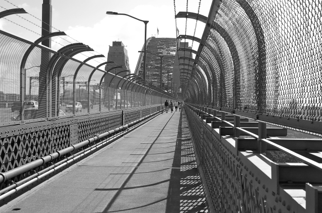 Southern Approach - Sydney Harbour Bridge