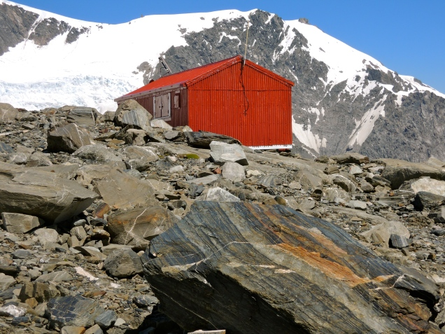 Shelter from the storm (Almer Hut - New Zealand)