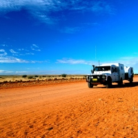 We're heading Outback for a few days - (In The Landy)