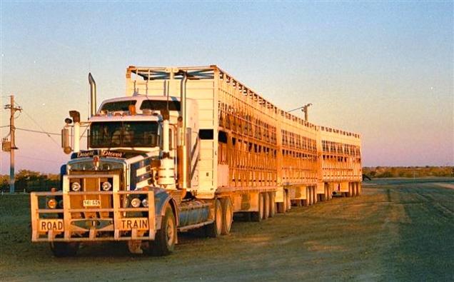 Road-Train (Outback Australia)
