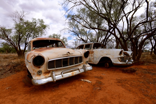 Broken Down - In the Australian Outback