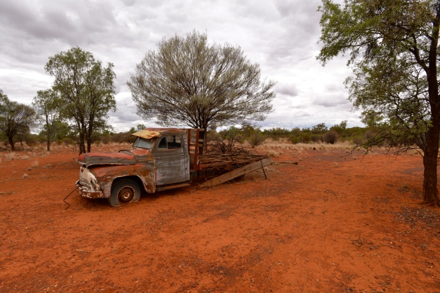 The Old Truck, Trilby Station, Australia