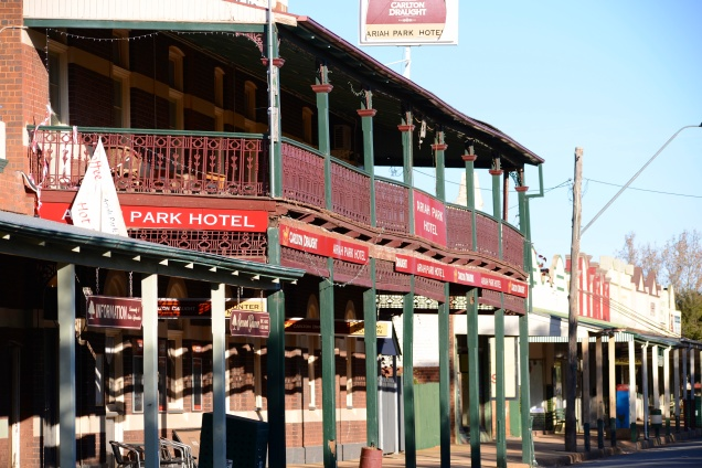 Ariah Park Pub - Country New South Wales