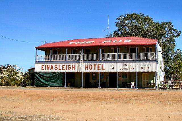 Einasleigh Hotel - Gulp Country