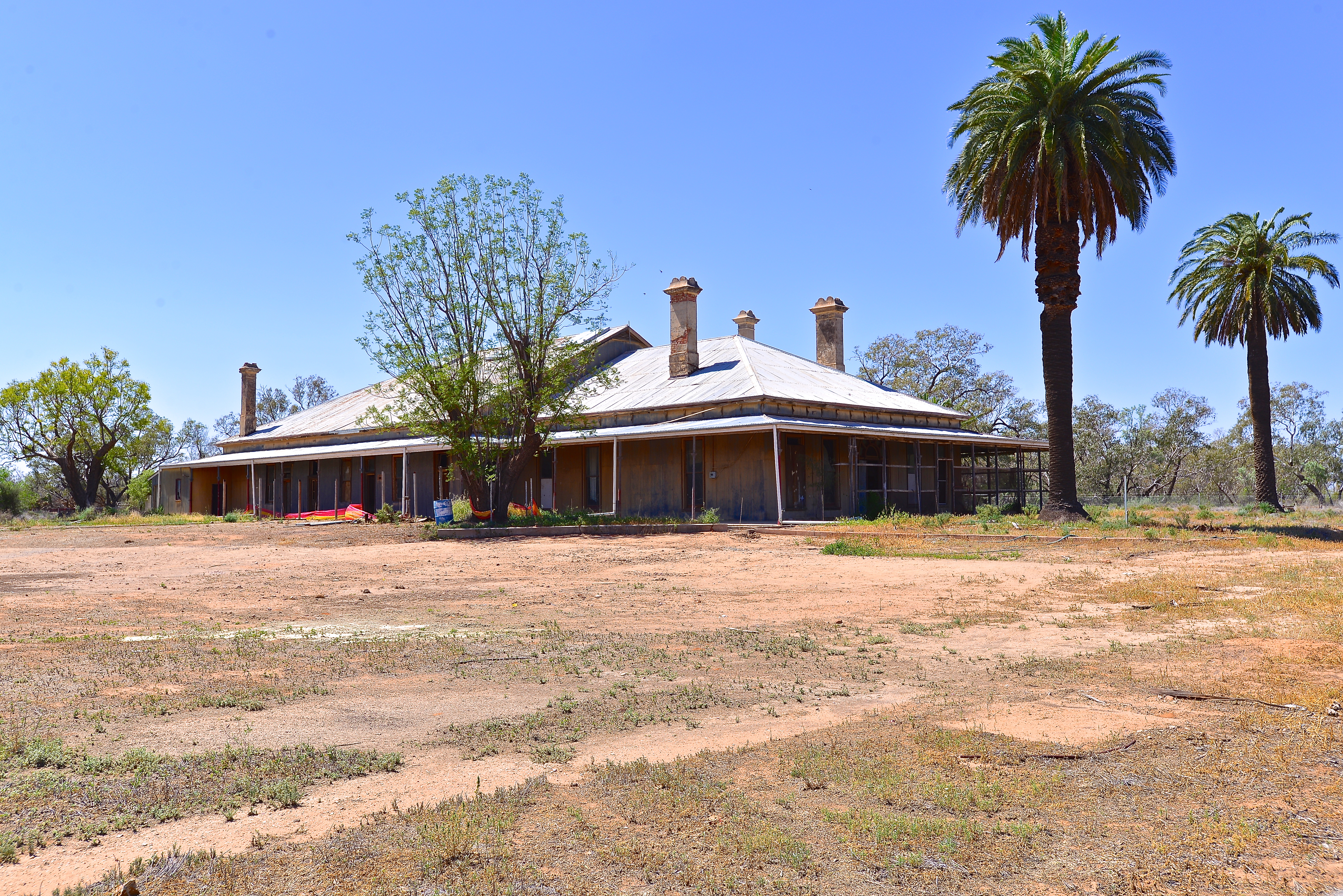 Toorale National Park Homestead Outback Australia