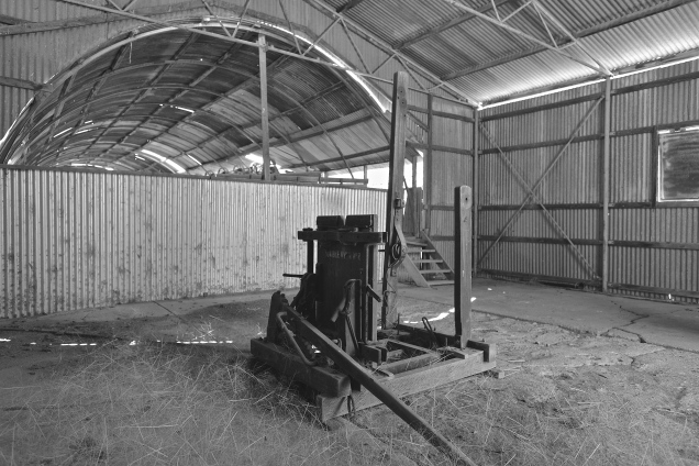 Toorale Shearing Shed