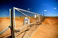 The dog-fence