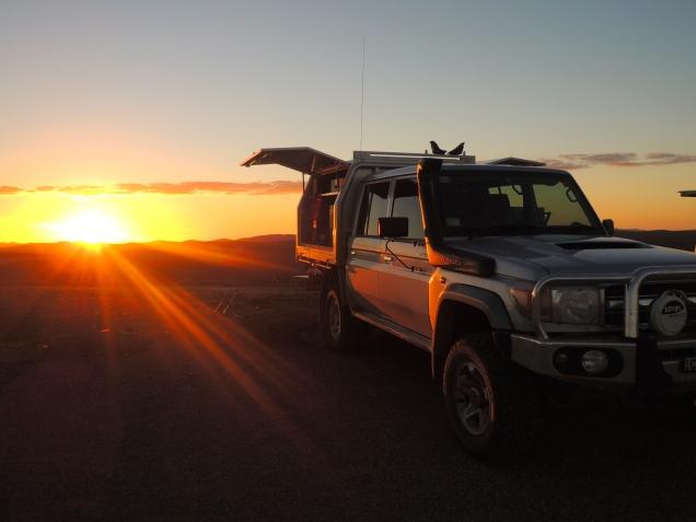 The Landy, Outback Australia