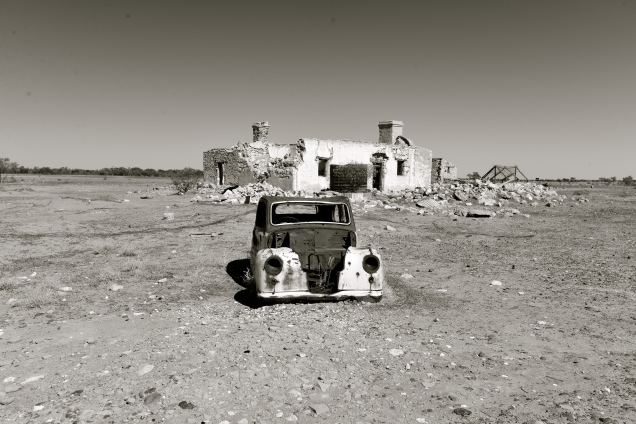 Abandoned (In Outback Australia)