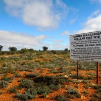 An Atomic Blast (In the Outback)