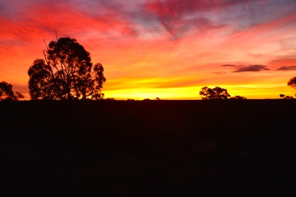 Sunset in Australia